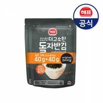 [사조해표] 더고소한돌자반김 김가루 (40g+40g) x4개