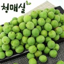 [푸른들] 전라남도 청매실 10kg (왕특) / 34mm내외