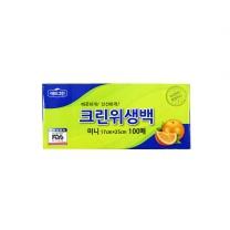 애드그린 크린 위생백 미니(100매)