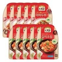 [CJ직배송] 다담 양념 마파두부150gX5개+갈치조림150gX5개