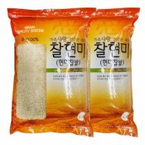 [월드그린] 한드레 찰현미 4kg2봉