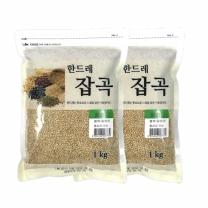 [월드그린] 한드레 찰현미 1kg2봉
