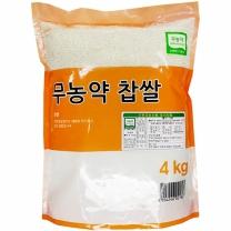 [월드그린] 한드레 무농약찹쌀 4kg