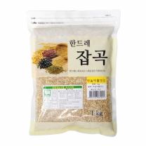 [월드그린] 한드레 무농약찰보리 1kg