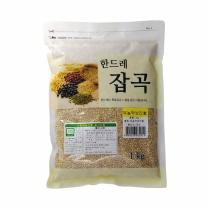[월드그린] 한드레 무농약보리 1kg