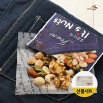 [넛츠피아] 하루한줌견과 잇츠넛 프리미엄 진 50봉 선물세트