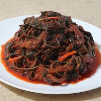 [산지직송] 여수 고들빼기 김치 2kg