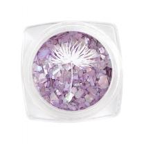 위드샨 자개글리터 제비꽃 (네일글리터)