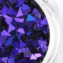 위드샨 카멜레온 글리터 (블루-퍼플) Triangle