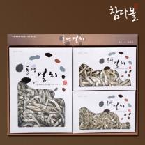 [참다올]통영멸치 선물세트 3종2호