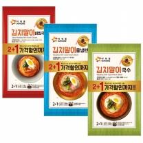 아워홈 김치말이 3종 2+1 세트 /국수/냉면/비빔국수