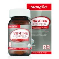 칼슘 마그네슘 아연 비타민D 120정 (60일분)