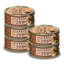 [CJ직배송] 계절어보 바로먹는 간장꽁치 120g X5개