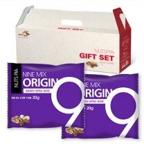 [넛츠피아] 5+1 하루한줌견과 나인믹스 오리진 25봉 선물세트