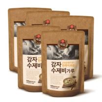 [CJ직배송] 감자수제비가루 500g X 5개