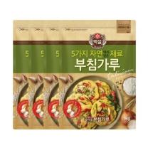 [CJ직배송] 백설 자연재료 부침가루 (1kg X4개)