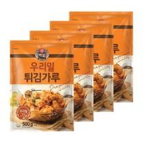 [CJ직배송] 백설 우리밀튀김가루 (500g X4개)