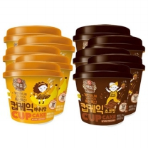 [CJ직배송] 컵케익쵸코맛(55g)x5개+컵케익바나나맛(60g)x5개(총10개)