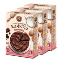 [CJ직배송] 초코케익믹스 300g X3개