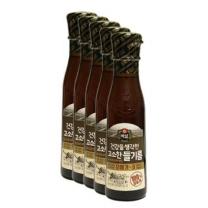 [CJ직배송] 건강한 들기름 160ml x 5개