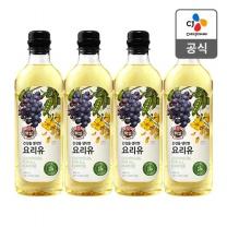 [CJ직배송] 건강을 생각한 요리유 900ml X4개