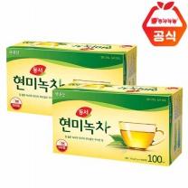 [동서식품]현미녹차 100T+100T /총200T