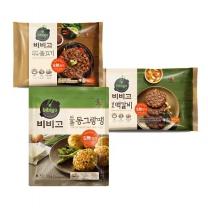 [CJ직배송] 남도떡갈비450g + 바싹불고기460g + 도톰동그랑땡560g