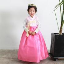 예화_ 여아 아동한복 몸판나비수핑크 17-2010