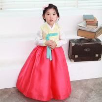 예화_ 여아 아동한복 몸판나비수노랑 17-2032