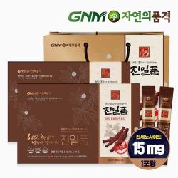 GNM자연의품격 진일품 6년근 홍삼정스틱골드 2박스 (60포)