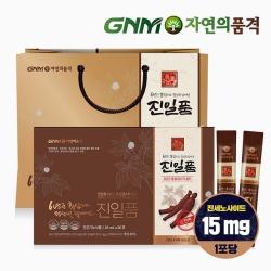 GNM자연의품격 진일품 6년근 홍삼정스틱골드 1박스 (30포)