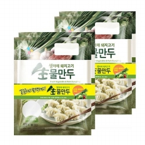 [CJ직배송] 생야채와 돼지고기 물만두 400g x2번들 X2개
