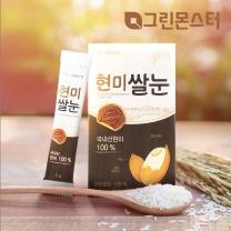그린몬스터 현미쌀눈 100%_국내산현미(5gx14포)