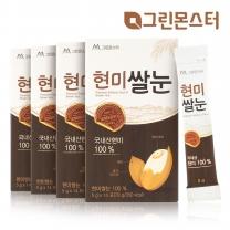 그린몬스터 현미쌀눈 국내산100%_4개세트(56포)