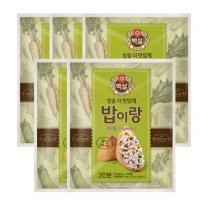 [CJ직배송] 밥이랑 야채 27g X 5개 (9g X 15봉)