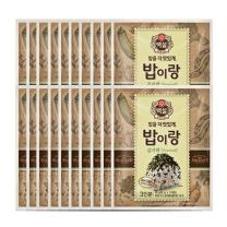 [CJ직배송] 밥이랑 김자반 18g X 20개