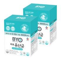 [CJ직배송] BYO피부유산균 2.5g 30포 X2박스(60일분)