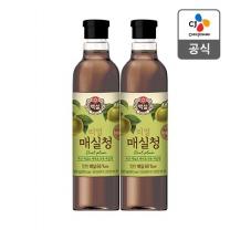 [CJ직배송] 백설 매실청1.025kg X2개