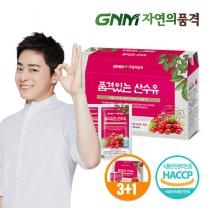 GNM자연의품격 순수한 산수유 1박스 (30포) (3박스 구매시 1박스 증정)