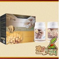 [자연의 선택] 프리미엄 마죽선물세트 1호 1.2kg (은행마죽600g+버섯더덕마죽600g)