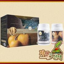 [자연의 선택] 프리미엄 마죽선물세트 2호 1.2kg (결명자검은콩 600g+호박마죽600g)