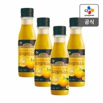 [CJ직배송] 유자샐러드소스250gX4개