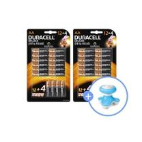 듀라셀 디럭스 건전지 12+4개입 2팩/사은품 충전케이블증정/무료배송
