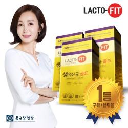 [종근당건강] 락토핏 생유산균 골드 30포 3박스 (3개월분)
