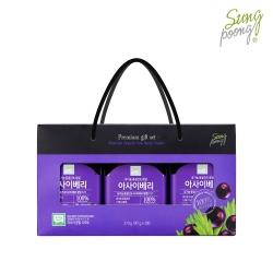 성풍 유기농 아사이베리 선물세트 (90g X 3개입)