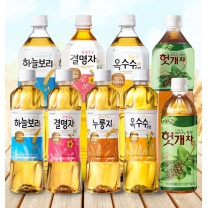 웅진식품 하늘보리/옥수수차/결명자/누룽지차/헛개차 500ml x 20입 모음