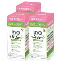 [CJ직배송] BYO 장유산균 녹차카테킨 PLUS 28포 X3개