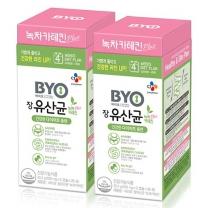 [CJ직배송] BYO 장유산균 녹차카테킨 PLUS 28포 X2개
