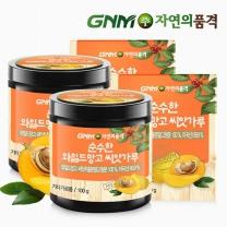 GNM자연의품격 순수한 와일드망고씨앗가루 분말 파우더 100g 2통