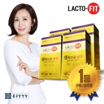 [종근당건강] 락토핏 생유산균 골드 30포 4박스 (4개월분)